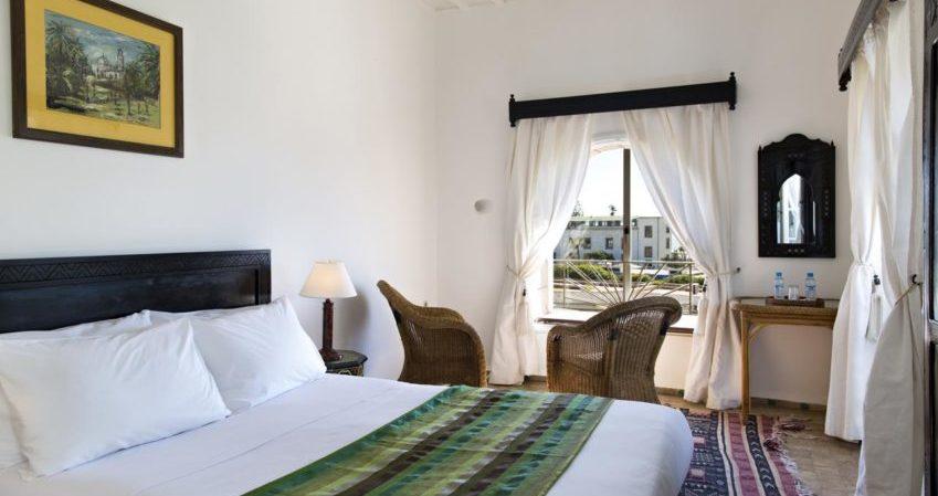 Chems bleu riad hotel essaouira Chambre Verte