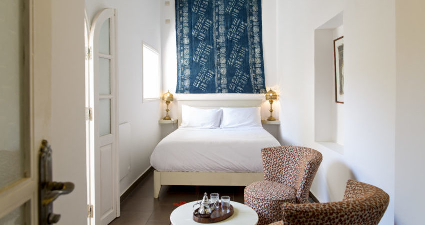 Chambre Batik Riad Essaouira Chems Bleu