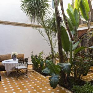 Chambre Jardin Riad Essaouira Chems Bleu