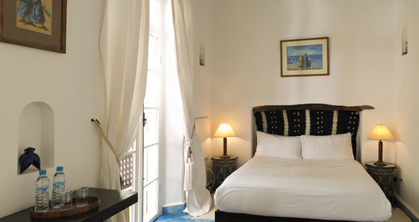 Chems bleu riad hotel essaouira Chambre Bleue