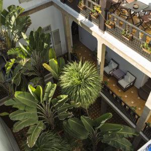 Chems bleu riad hotel essaouira Chambre Rouge